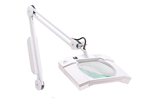 Aven-26505-LED-Mighty-View-Led-Magnifying-Lamp-with-80-High-Powered-LED-Lights-175x-Magnification-3-Diopter-32-Spring-Balanced-Arm-0