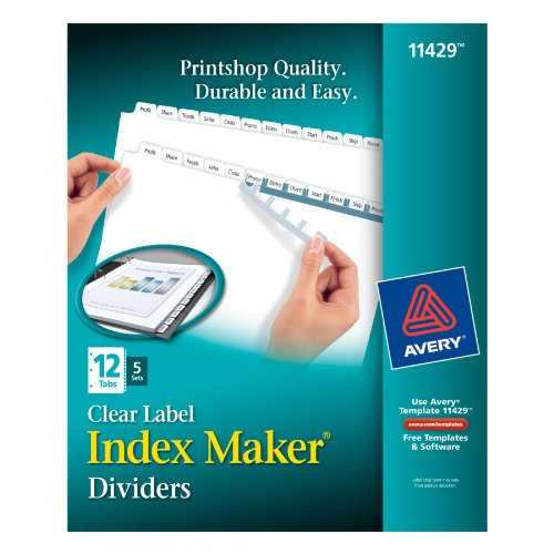 Avery-Index-Maker-Clear-Label-Dividers-0