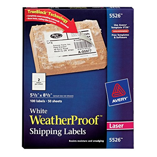 Avery-Weatherproof-Laser-Shipping-Labels-55-x-85-Inches-Pack-of-100-5526-0