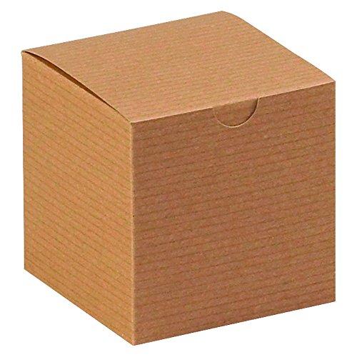Aviditi-GB444K-Gift-Boxes-4-x-4-x-4-Kraft-Pack-of-100-0