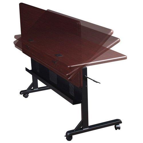 BALT-89870-Flipper-Training-Table-Rectangular-36w-x-24d-x-29-12h-Teak-0-0