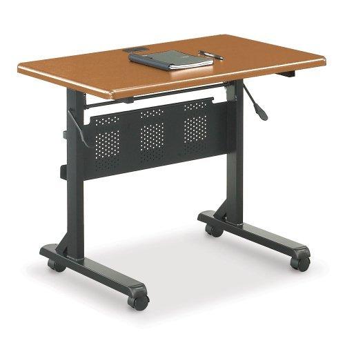 BALT-89870-Flipper-Training-Table-Rectangular-36w-x-24d-x-29-12h-Teak-0