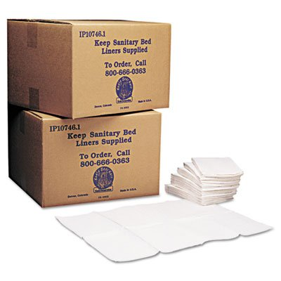 Baby-Changing-Station-Sanitary-Bed-Liners-White-500Carton-Sold-as-1-Carton-500-Each-per-Carton-0