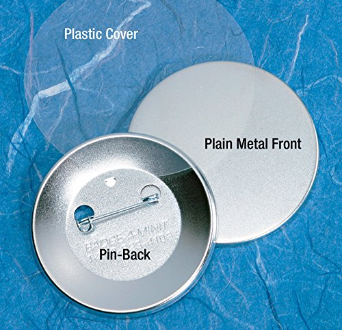 Badge-A-Minit-3011-C-2-14-Genuine-Badge-A-Minit-Pin-Back-Button-Sets-100-sets-0