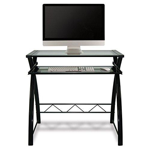 BellO-Glass-Top-Computer-Desk-High-Gloss-Black-0-1