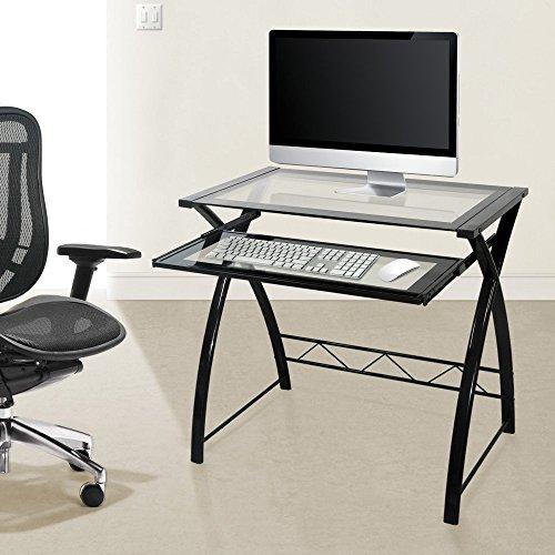 BellO-Glass-Top-Computer-Desk-High-Gloss-Black-0