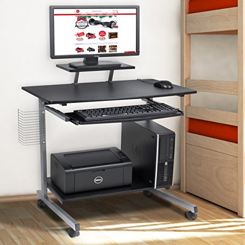 Best-Choice-Products-Computer-Desk-Cart-PC-Laptop-Table-Study-Portable-Workstation-Student-Dorm-Home-Office-0-0