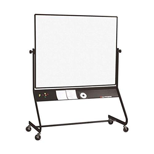 Best-Rite-Euro-Reversible-Mobile-Whiteboard-Porcelain-Markerboard-Both-Sides-Panel-Size-4-x-6-Feet-667RG-DD-0