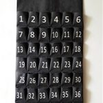 Black-Pocket-Charts-for-Classroom-Calculator-Pocket-Chart-Cell-Phone-Holder-for-School-Wooden-Chart-Holders-42-Pocktes-0