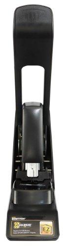 Bostitch-EZ-Squeeze-130-Sheet-Flat-Clinch-Heavy-Duty-Stapler-Reduced-Effort-Black-B8130-0-1