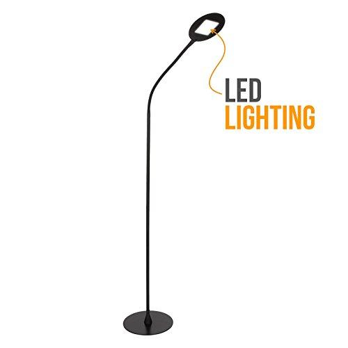 Brightech-Contour-Flex-LED-Reading-Floor-Lamp-Dimmable-Full-Spectrum-Light-Contemporary-Minimalist-Design-Fully-Adjustable-Neck-9-Watts-Energy-Saver-LED-Bulb-0-0