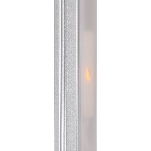 Brightech-Sparq-M-LED-Arc-Wall-Lamp-Curved-Contemporary-Lighting-Design-for-Intimate-Dwellings-Warm-Bright-White-Light-with-Three-Settings-0-0