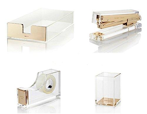 Bundle-4-Items-Kate-Spade-New-York-Acrylic-Desk-Set-0