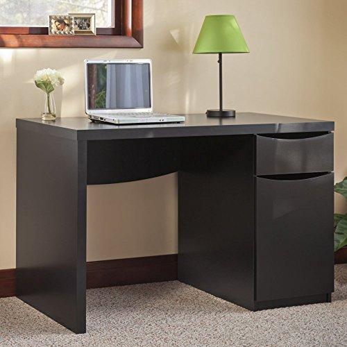 Bush Furniture Montrese Computer Desk With Closed Storage