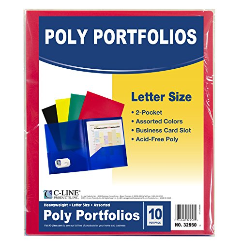 C-Line-Two-Pocket-Heavyweight-Poly-Portfolio-with-Prongs-0-0