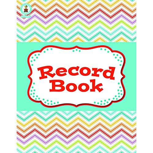 CARSON-DELLOSA-CHEVRON-RECORD-BOOK-BOOK-Set-of-6-0