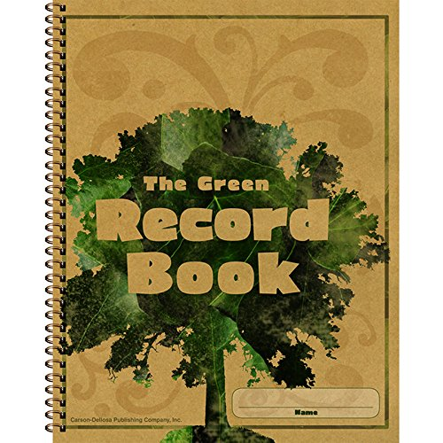 CARSON-DELLOSA-THE-GREEN-RECORD-BOOK-Set-of-3-0