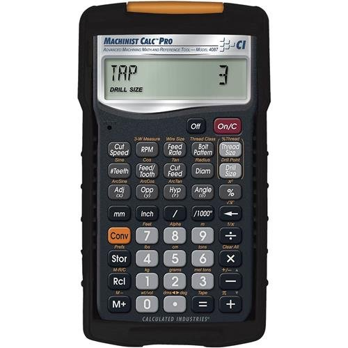 Calculated-Industries-4087-Machinist-Calc-Advanced-Machining-Math-and-Reference-Tool-0