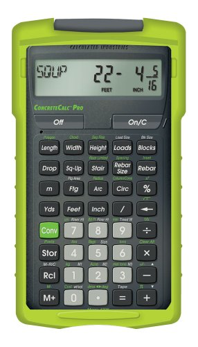 Calculated-Industries-ConcreteCalc-Pro-4225-Advanced-Yard-Feet-Inch-and-Fraction-Concrete-Calculator-0