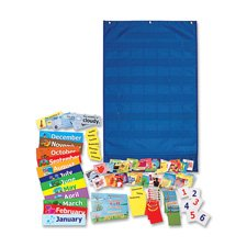 CalendarWheather-Pocket-Chart-23-34×38-Blue-Sold-as-1-Each-0
