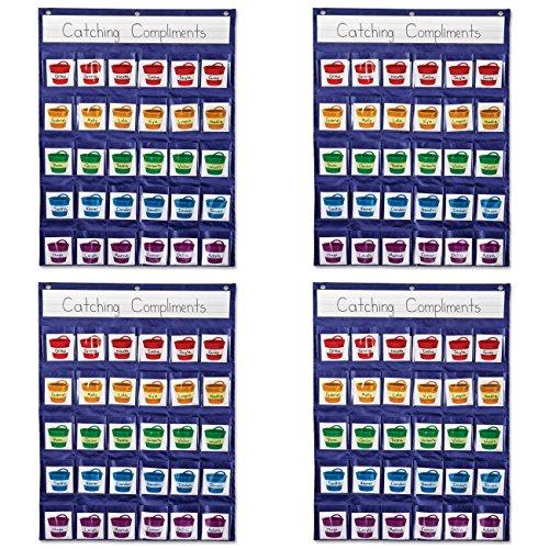 Carson-Dellosa-Positive-Reinforcement-Pocket-Chart-158161-4-Packs-0