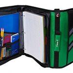Case-it-Z-Binder-Two-in-One-15-Inch-D-Ring-Zipper-Binders-Green-Z-176-GRE-0-0