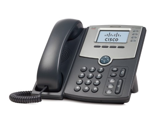 Cisco-SPA504G-4-Line-IP-Phone-with-2-Port-Switch-PoE-and-LCD-Display-Silver-Grey-0
