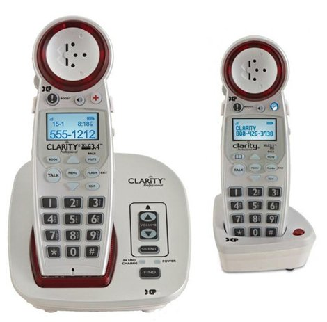 Clarity-XLC34-Severe-Hearing-Loss-Cordless-Phone-with-XLC35-Expandable-Handset-0