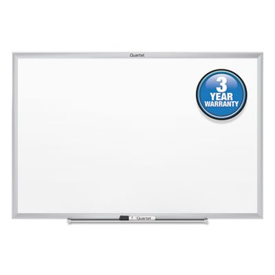 Classic-Melamine-Whiteboard-96-x-48-Silver-Aluminum-Frame-Sold-as-1-Each-0-0