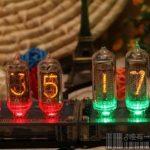 Classic-Nixie-Tube-Clock-Kit-In-14-Tubes-See-Through-Acrylic-Base-0-1