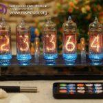 Classic-Nixie-Tube-Clock-Kit-In-14-Tubes-See-Through-Acrylic-Base-0