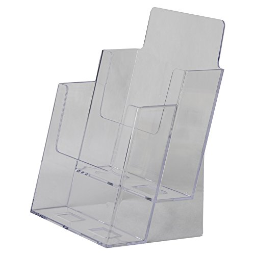 Clear-Ad-LHF-S112-Acrylic-2-Tier-Brochure-Holder-0-1