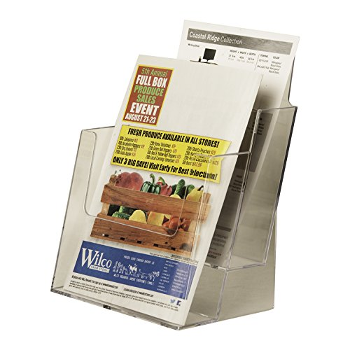 Clear-Ad-LHF-S112-Acrylic-2-Tier-Brochure-Holder-0