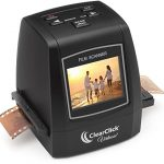 ClearClick-22MP-Virtuoso-Film-Slide-Scanner-with-PhotoPad-Software-8-GB-Memory-Card-Convert-35mm-110-126-Super-8-Film-To-Digital-0