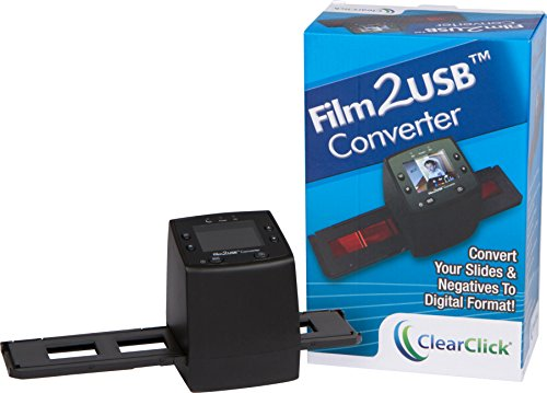 ClearClick-Film-To-USB-Converter-35mm-Slide-and-Negative-Scanner-with-23-Color-LCD-2-GB-Memory-Card-Free-USA-Tech-Support-0-0