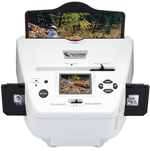 ClearClick-Photo-To-Digital-Photo-Slide-and-Film-Scanner-with-4-GB-Memory-Card-Photo-Editing-Software-0