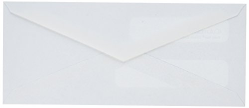 Columbian-White-Gummed-3-58-x-8-58-Inch-Double-Window-Business-Envelopes-500-Count-0-0