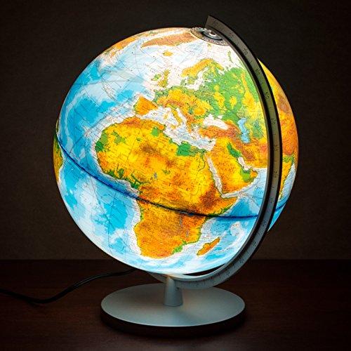 Columbus-Explorer-Illuminated-World-Globe-with-US-States-12-Diameter-0