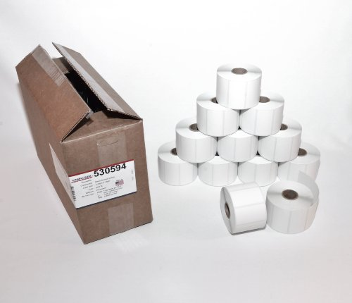 CompuLabel-Direct-Thermal-Labels-2-14-x-1-14-Inch-White-Roll-Permanent-Adhesive-Perforations-Between-Labels-1000-per-Roll12-Rolls-per-Carton-530594-0-0