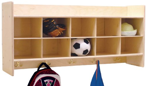 Contender-C51409-Wall-Locker-Cubby-Storage-without-Trays-0-0