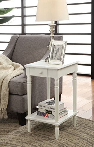 Convenience-Concepts-French-Country-End-Table-White-0-0