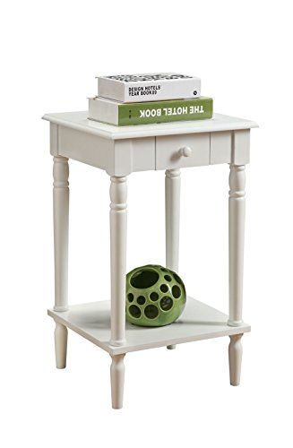 Convenience-Concepts-French-Country-End-Table-White-0