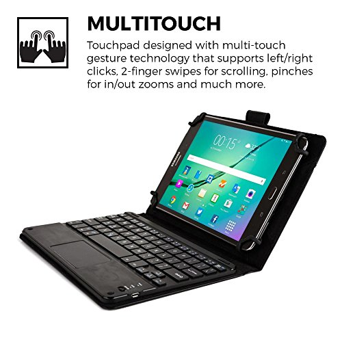 Cooper-CasesTM-Touchpad-Executive-Universal-8-89-Tablet-Bluetooth-Keyboard-Folio-0-1