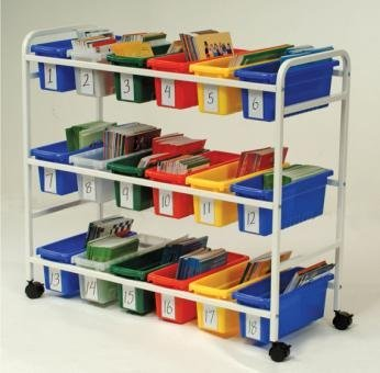 Copernicus-Educational-Product-BB005-18-Cart-Leveled-Reading-Book-Browser-18-Tubs-0