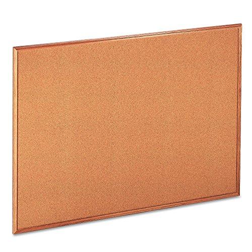 Cork-Bulletin-Board-48-x-36-Natural-Oak-Frame-0