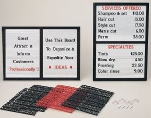 CounterWall-Message-Board-Sign-with-Interchangeable-Letters-0