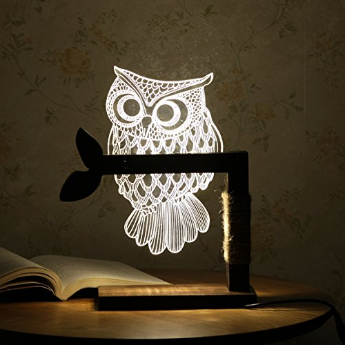 CozyWow-3D-LED-Lamp-Desk-Light-Night-Light-US-Plug-Adjustable-LightWhite-0
