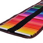 CraftyPix-48-Colored-Pencils-for-Adults-with-Case-Premium-Watercolor-Pencils-for-Adult-Coloring-Books-The-Set-Comes-with-48-Artist-Grade-Pencils-Canvas-Case-Brush-Sharpener-Eraser-0-0
