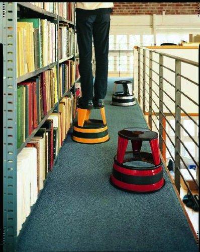 Cramer 1001 19 Kik Step Rolling Step Stool Beige Office