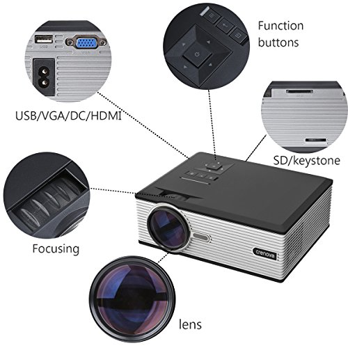 Crenova-XPE700-Pico-Video-DLP-Projector-Mini-Projector-WiFi-Connection-with-iPhone-Smartphone-iPad-tablet-for-Home-Outdoor-Backyard-Cinema-Theather-0-0